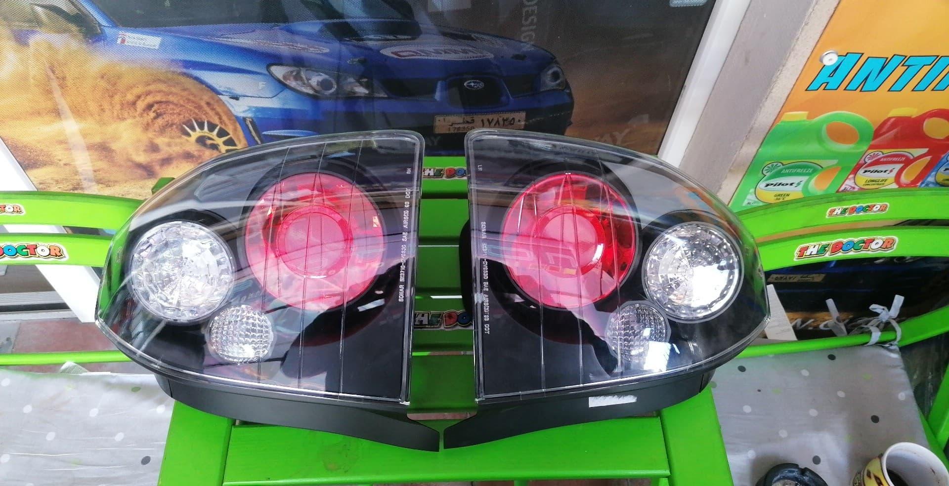 Honda Civik od 95- Sonar štopovi 2 modela... Crni i hrom.