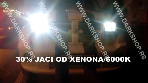 LED SIJALICA H4 BI-LED ZA GLAVNO SVETLO/6000K/3000 LUMENA