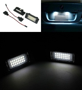 LED TIPSKE SIJALICE ZA TABLICE - BMW