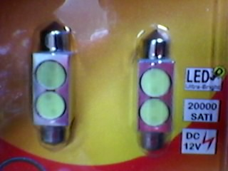 LED DIODA 10*39MM.10*41MM/2*1W U ALUMINIJUMU