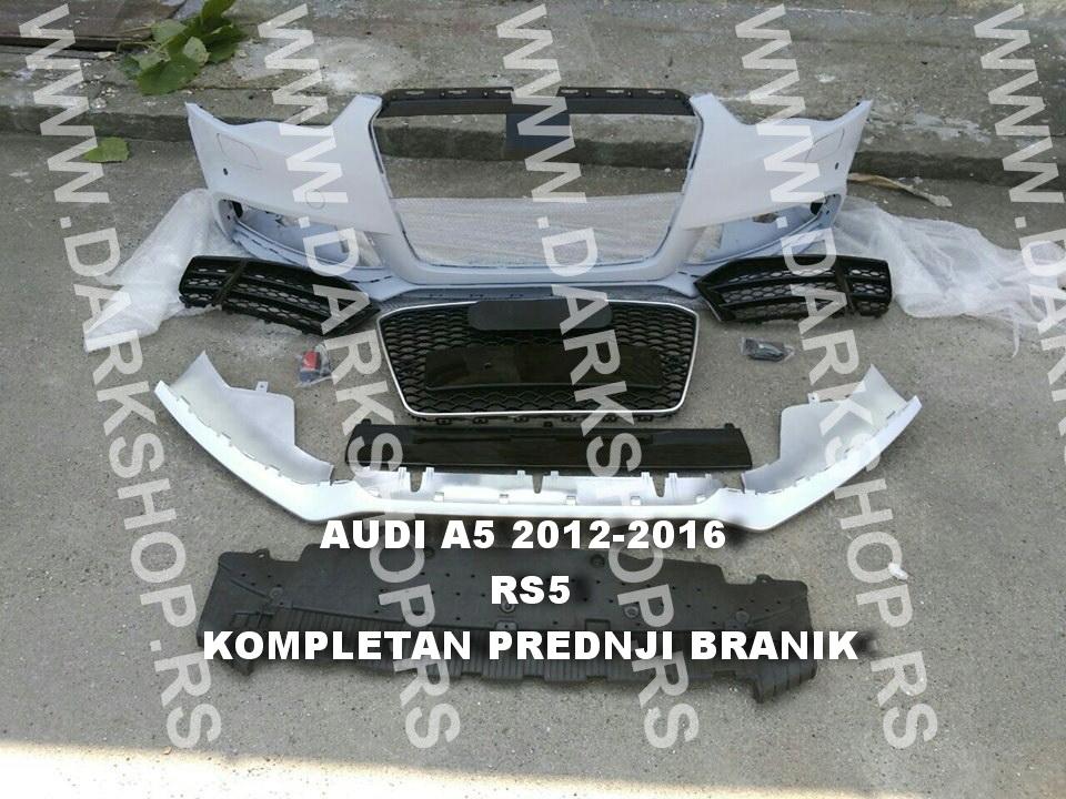 AUDI A5 RS5 PREDNJI BRANIK KOMPLET OD 2012-2016