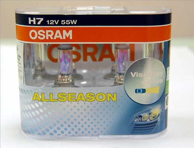 OSRAM SIJALICE ALL SEASON/ZUTE