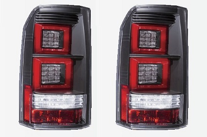 LED Stop svetla LAND ROVER DISCOVERY BLACK 04-09