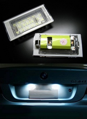 LED TIPSKE SIJALICE ZA TABLICE - BMW 3