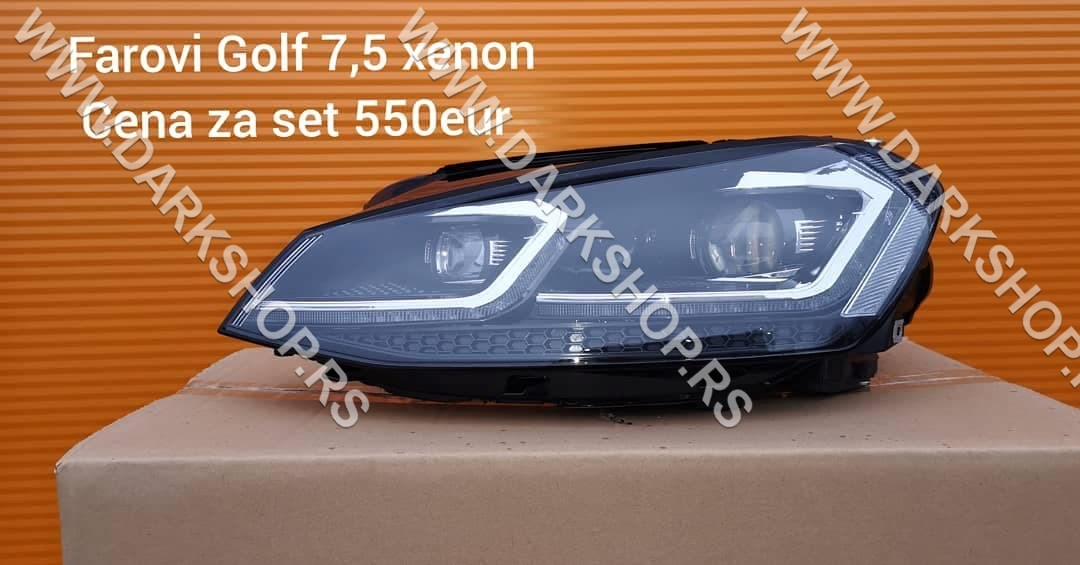 1 golf 7.5 xenon far+drl od 16-