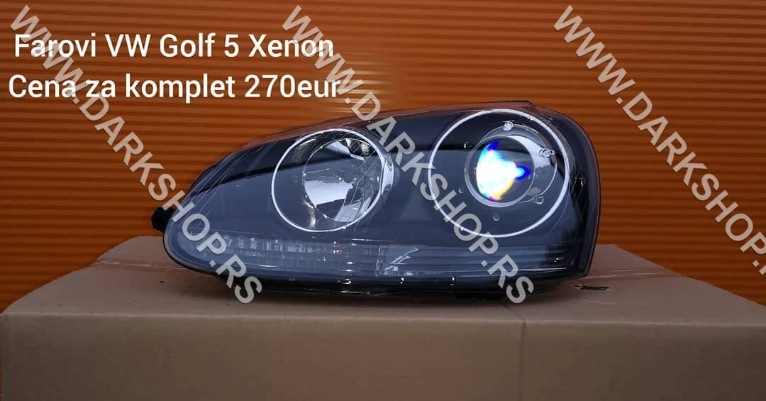 1 GOLF 5 XENON FAR 03-09